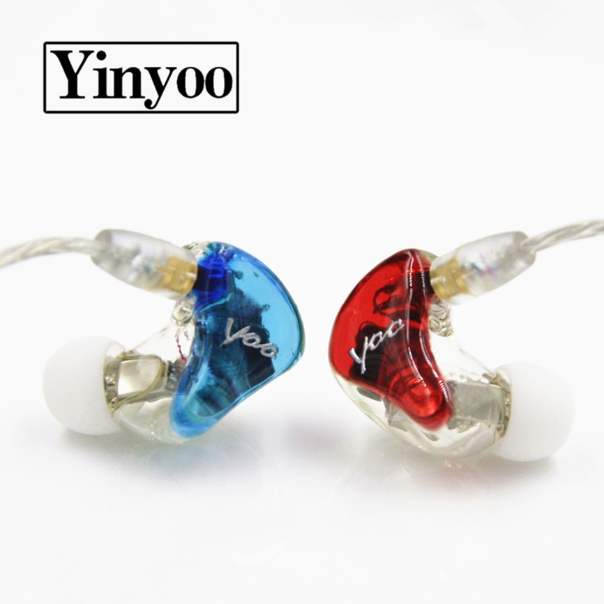 New Arrived Yinyoo DQ4 In Ear Earphone 3ba+1dd Hybrid Custom Earphones Headsets Better Than SE846 UE900 Around Ear Earphone фотобарабан panasonic dq dcd100a7 dq dcd100a7