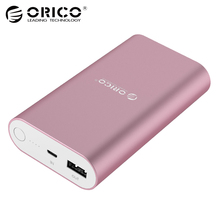 ORICO QC3 0 Power Bank Aluminum 10050mA Capacity Universal Portable Quick Charger for Smart Phones