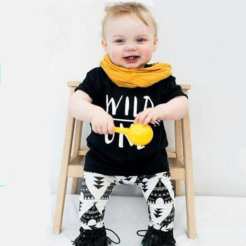 kisfiú ruházati készletek gyerekek Rövid póló + nadrág nadrág - Bébi ruházat - Fénykép 1