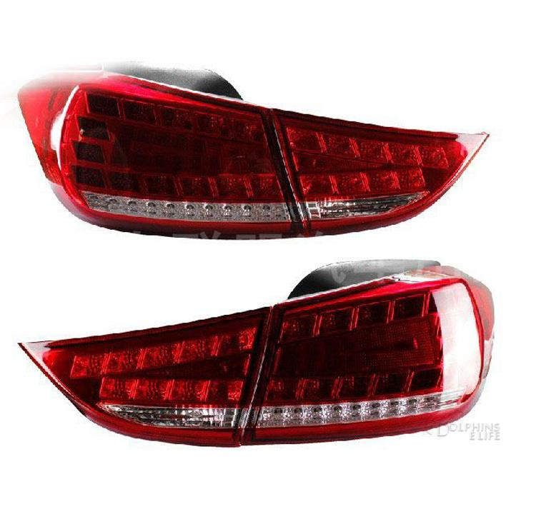 New LED Signal+Brake+Reverse Car Styling Tail Light Altis Lamp DRL for Hyundai Elantra Rear lights 2011 2012 2013 2014 free shipping led tail lamps assy bm style light bar rear lamps tail lights fit for hyundai elantra 2012 2015