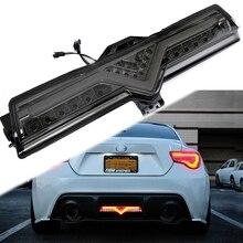Per Toyota GT86 Subaru BRZ Scion FRS Valent/Helix LED posteriore della lampada della nebbia della luce di inverso Della Coda del Freno di Coda Posteriore lampada