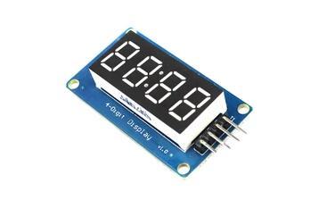 5 шт. TM1637 Модуль светодиодный дисплей для Arduino 7-сегментный 4 биты 0.36 дюймов часы красный анод драйвер цифровой трубки пакет доска разъем