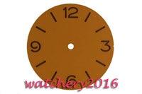 38.9mm parnis orange Number dial fit unitas eta 6497 movement Men's Watch dial