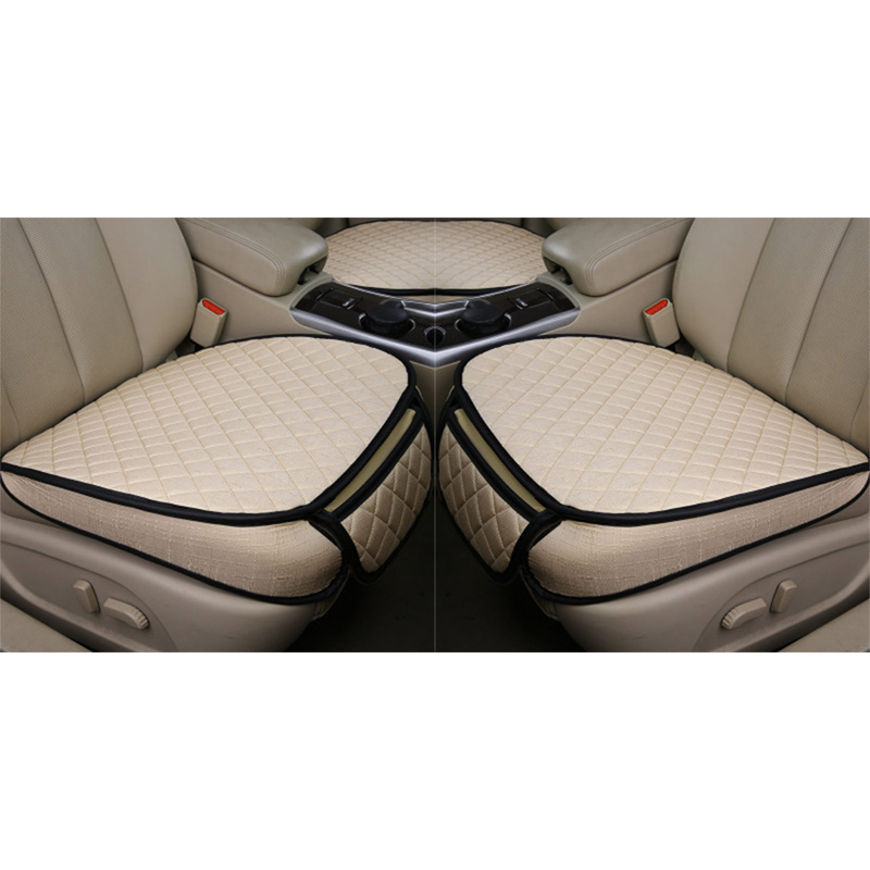 Image 5 - Car Seat Covers Set Universal Automobiles Seat Cover Breathable Flax Auto Seats Cushion Pads Protector Car Styling Accessories-in Automobiles Seat Covers from Automobiles & Motorcycles