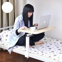 מודרני מתקפל שולחן מחשב נייד שולחן למידת עצלן מעונות 40*60 ס