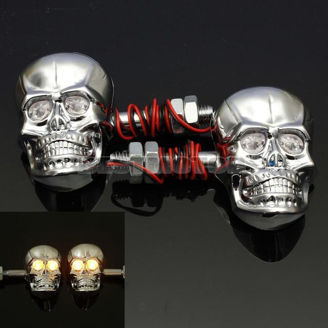 12V 0.5W Motorcycle Skull Turn Lights