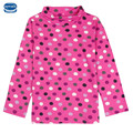polka dot cute long sleeve girl t-shirt 2016 nova kids children baby girl clothing retail clothes girl new spring wear