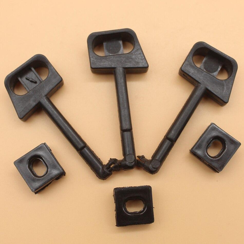 3Pcs/lot Choke Rod Lever For HUSQVARNA 136 136LE 137 137E 141 141LE 142 142E 36 41 Chainsaw Parts
