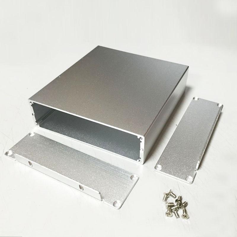 Aluminum enclosure 114X33X120mm Instrument shell PCB project box Case DIY electronics enclosure