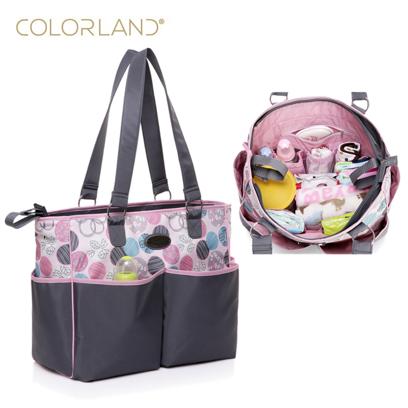 buy colorland baby stroller mummy maternity nappy diaper bag organizer baby. Black Bedroom Furniture Sets. Home Design Ideas