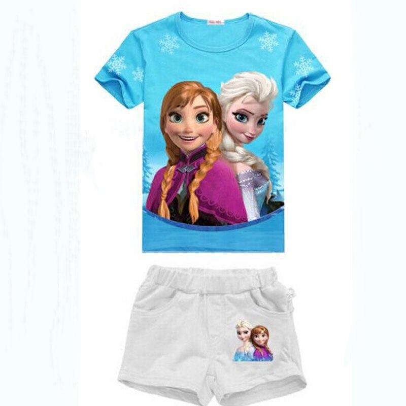 Aliexpress.com : Buy 2017 Summer Kid Girls Clothing Set 100 ...