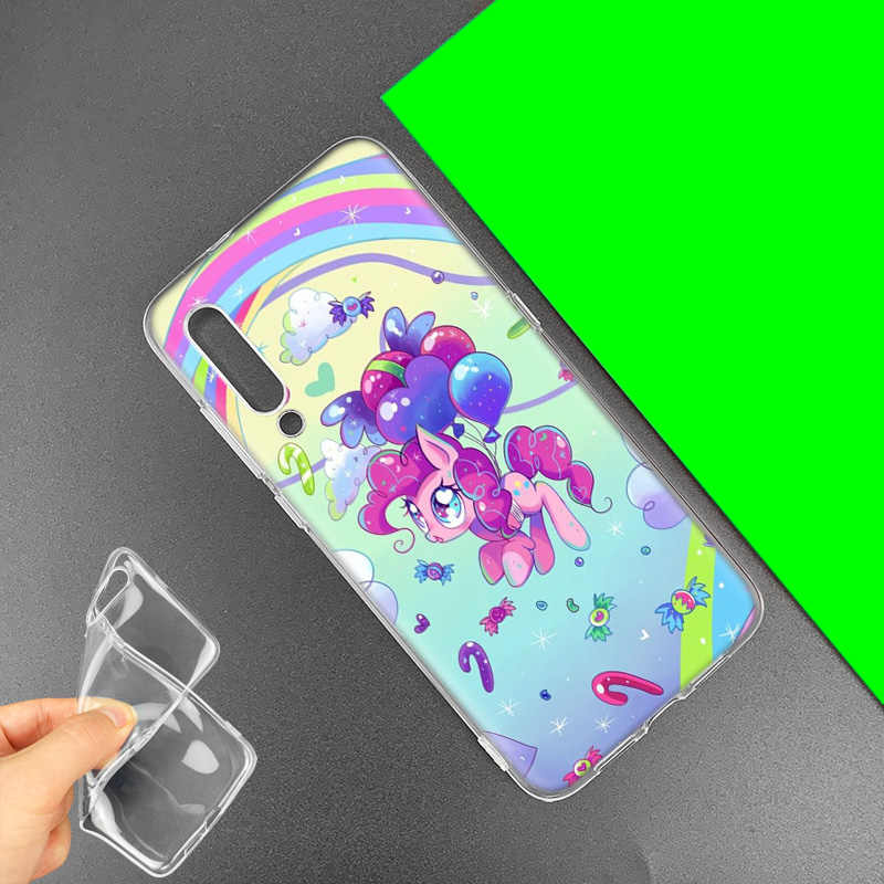 С рисунком из мультфильма «Мой Маленький Пони» чехол для huawei Honor 8X 8C 8 9 10 20 играть 8A lite рro V20 Y9 Y7 Y6 Y5 Prime 2018 2019 ТПУ с рисунком из аниме чехол для телефона с отделениями для карт