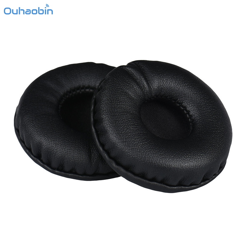 Ouhaobin Hot Popular 1 Pair Ear Pad Protein Leather Replacement Ear Pads 55MM Headphones Earpads High Quality Sale Sep12