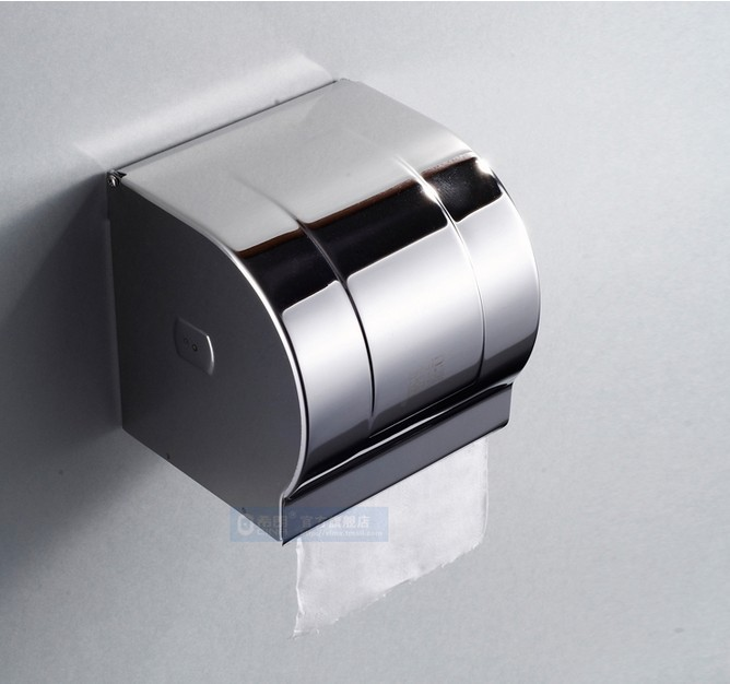 Free Shipping Wholesale And Retail Promotion Modern Chrome Stainless Steel  Paper Holder Box Toilet Paper Holder. Popular Tissue Holder Chrome Buy Cheap Tissue Holder Chrome lots