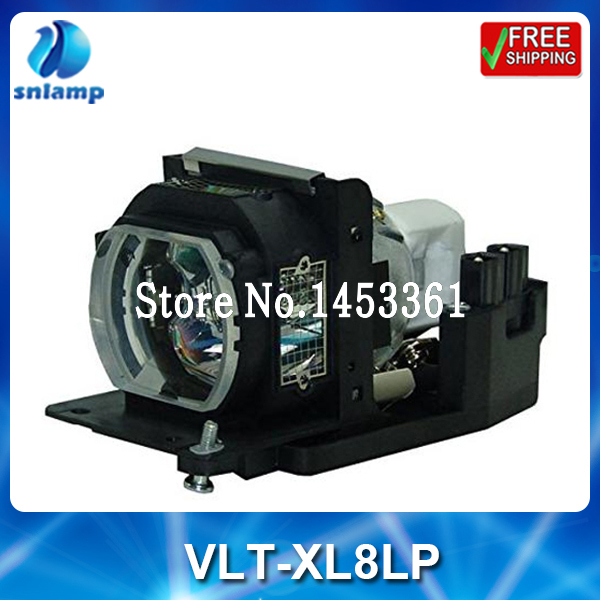 все цены на High quality compatible projector lamp bulb VLT-XL8LP for W-Cup SL4 SL4S SL4SU SL4U XL4 XL4S XL4U XL8 XL8U онлайн