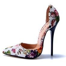 NoEnName_Nullผู้หญิงรองเท้าส้นสูงเซ็กซี่เครื่องรางสุภาพสตรีรองเท้าแต่งงานเจ้าสาวพรรคดอกไม้แหลมToe Pumpsกริชขนาดบวก
