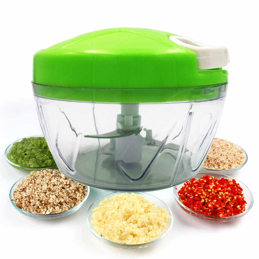Food Chopper Cortador Peeler Slicer Shredder Vegetal Manual de Mão Puxando manual do vegetal cortador de legumes chopper