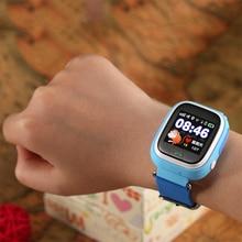 TWOX Q90 Smart Watch Niños SOS alarma GPS WIFI Bluetooth anti-perdida  tarjeta SIM para inteligentes para niños relojes teléfono . 950bb181c319