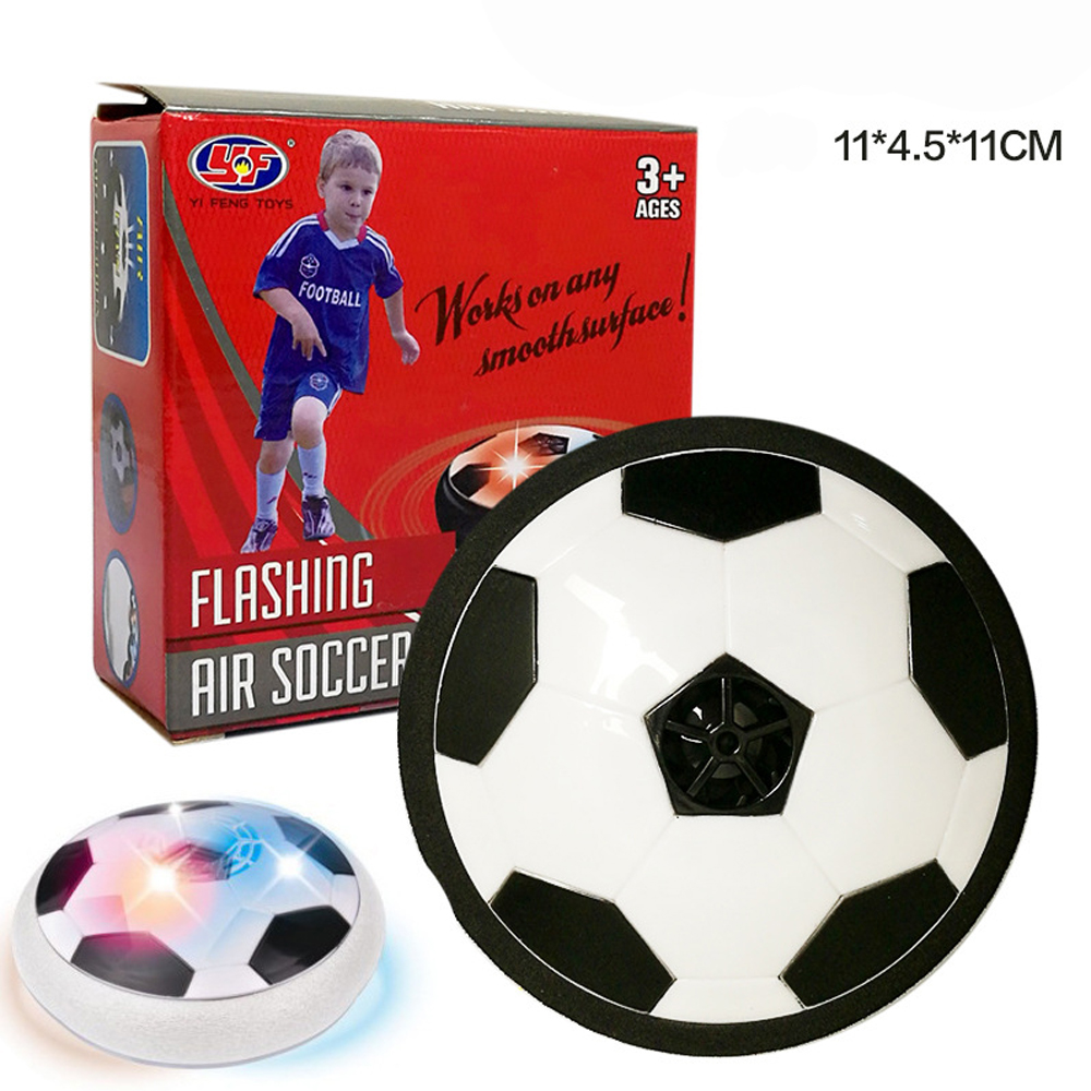 Indoor Kids Sports Ball Air Power Soccer Disk Game Bright Light Electric Suspension Football Toy For Children Drop Shipping