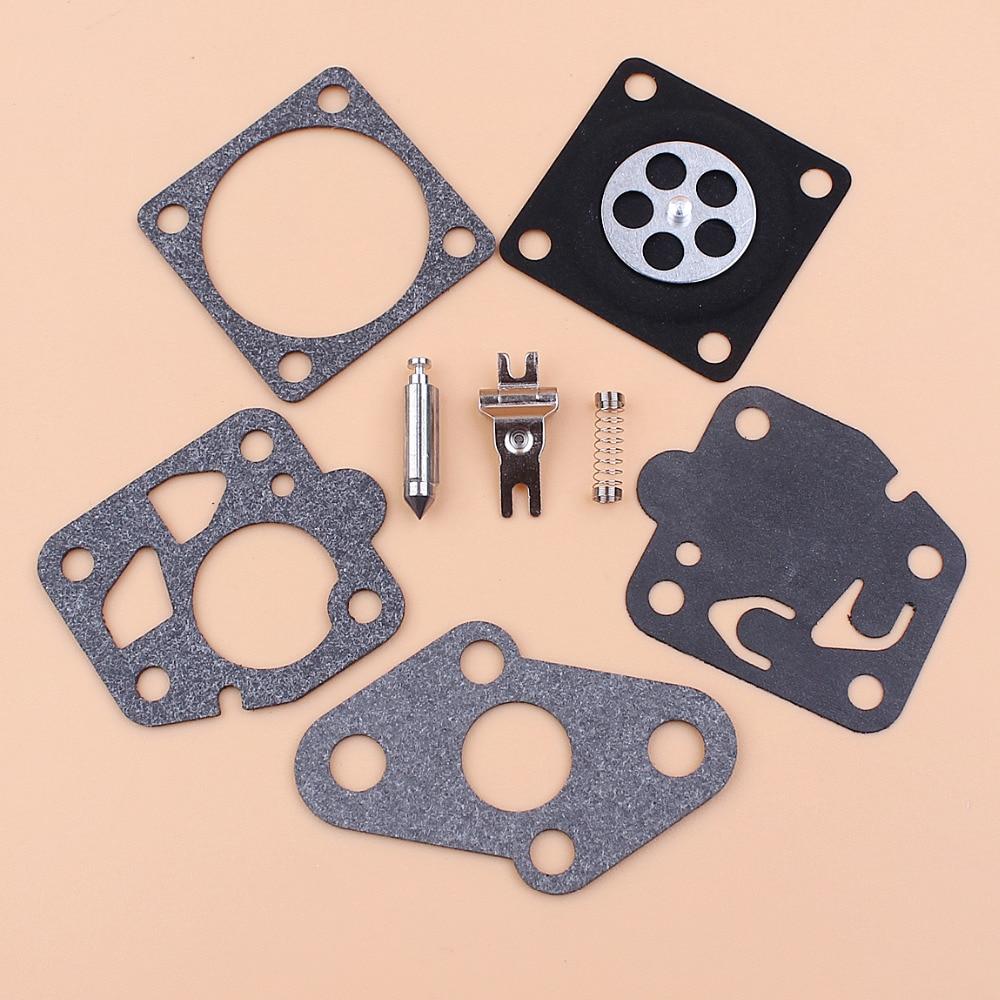 Carburetor Repair Diaphragm Kit Fit Kawasaki TD24 TD25 TD33 TD40 TD48 TG20 TG24 TG25 TG33 Engine Carburetor Carby Replace Part