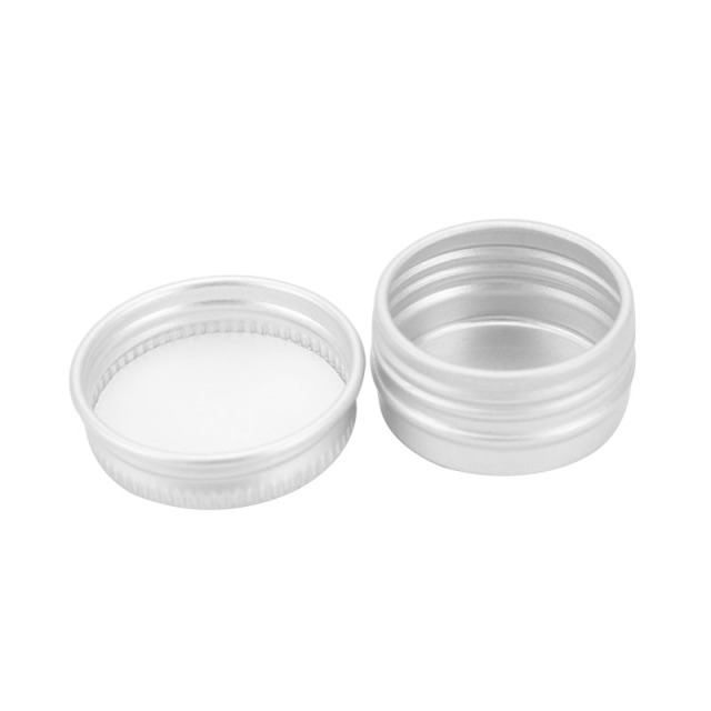 1pc Durable Round Aluminium Empty Cosmetic Pot Jar Tin Container Screw Lid Box for Cosmetic Cream Makeup Tools
