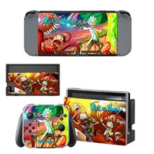 Cartoon Skin Sticker For Nintendo Switch NS Console Gamepad Controller Nintendoswitch Game Sticker Vinyl Decals Cover Protector
