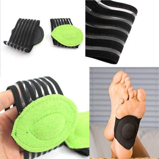 5d09cf0d1c 2Pairs Unisex Strutz Cushioned Arch Support Foot Care All-day Relief for  Achy Feet One Size Fits All