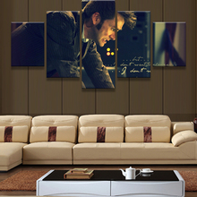 5 Panel Science Fiction Television Series Poster Home Wall Decor Canvas Picture Wall Art HD Print Painting On Canvas Framed