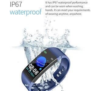 Image 5 - جديد RD11 الذكية الفرقة الرياضة جهاز تعقب للياقة البدنية سوار بلوتوث رصد معدل ضربات القلب IP67 مقاوم للماء الذكية أكل PK Y5 R11 S3