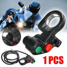 1PC 7/8 Handlebar ATV Bike Motorcycle Scooter Horn Turn Signals On/Off Light Switch 96cm Wire For Honda Suzuki