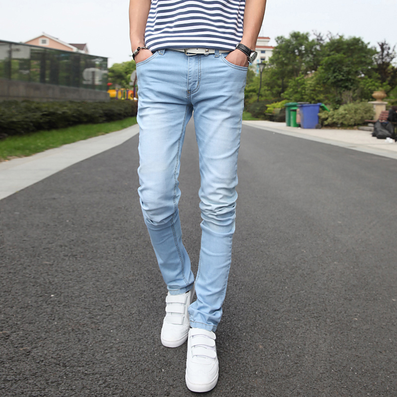 The gallery for --u0026gt; Light Blue Jeans Outfit Men