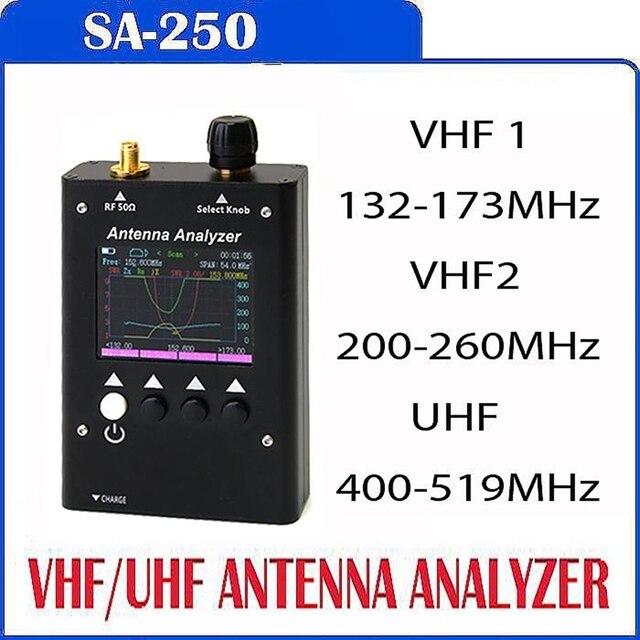 SURECOM SA250 132-173/200-260/400-519 МГц SA-250 Цвет Графический Анализатор Антенны 409 МАГАЗИН КК
