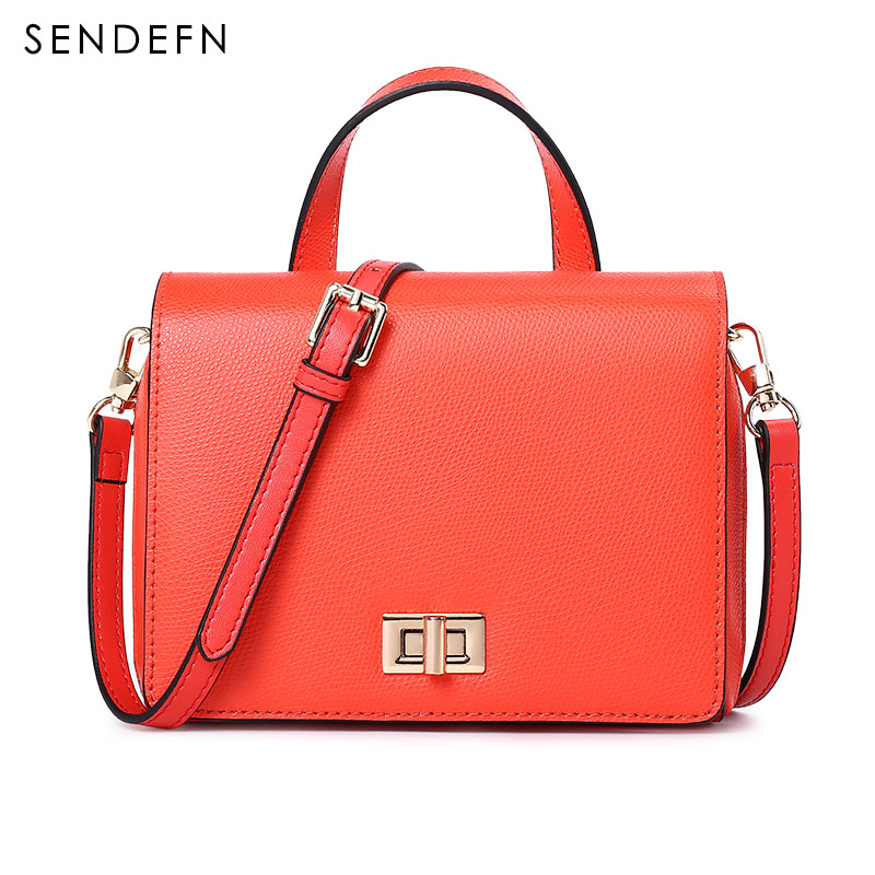 New Arrival Fashion Women Messenger Bags Brand Women Top-Handle Bags Leather Shoulder Bag Female Clutch Purse Ladies Handbag