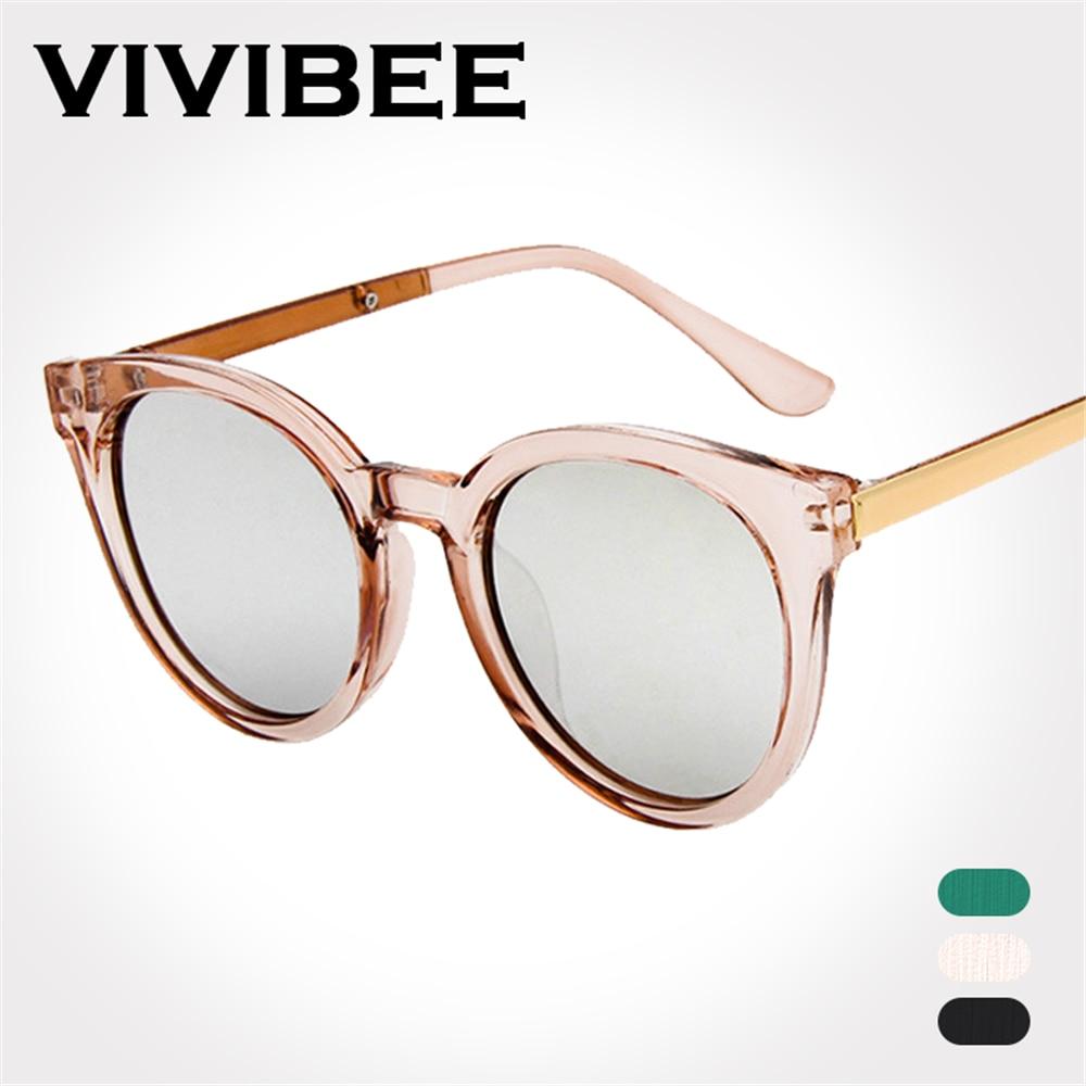 77da0a276b9a VIVIBEE Best Choose Transparent Pink Ladies Sun Glasses Oval Style Women  Sunglasses Unique Brand Designer UV400 Clout Eyeglasses