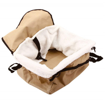 Travel Folding Soft Pet Dog Puppy Cat Kitty Car Seat Booster Seat Carrier Car Leash Bag Pet Supplies 1