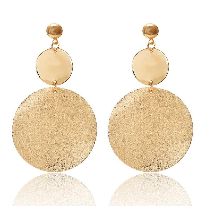 19 Big Geometric Earrings Fashion Statement earrings For Women Hanging Dangle Earrings Drop Earrings modern Jewelry 571 4