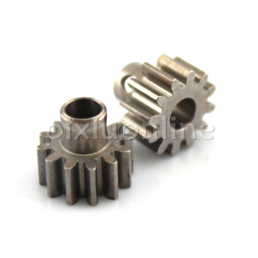 2pcs/lot J610b #45 Steel 12T Module 0.6 Gears 1.5mm Side Hole DIY Model Making Free Shipping Russia