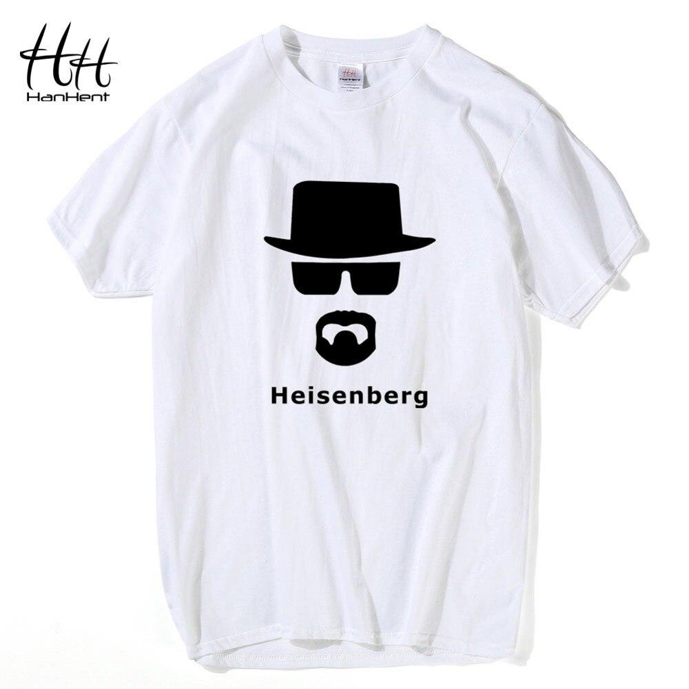 HanHent heisenberg fashion print t shirt men big bang