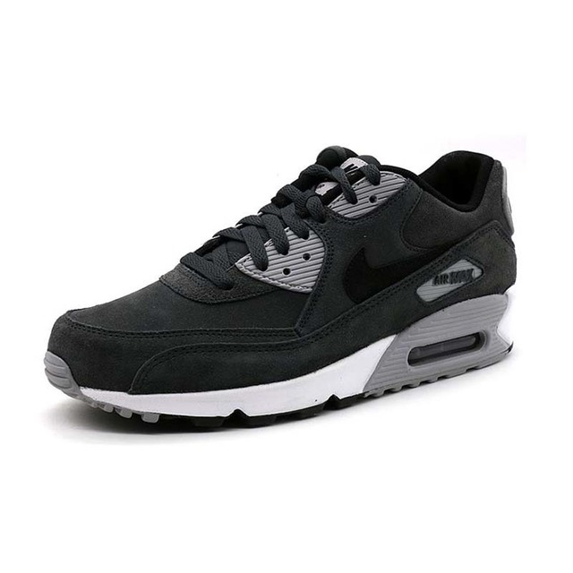 NIKE AIR MAX 90 Original New Arrival Breathable Running Shoes For Mens Comfortable Sneakers For Men Shoes #652980-012