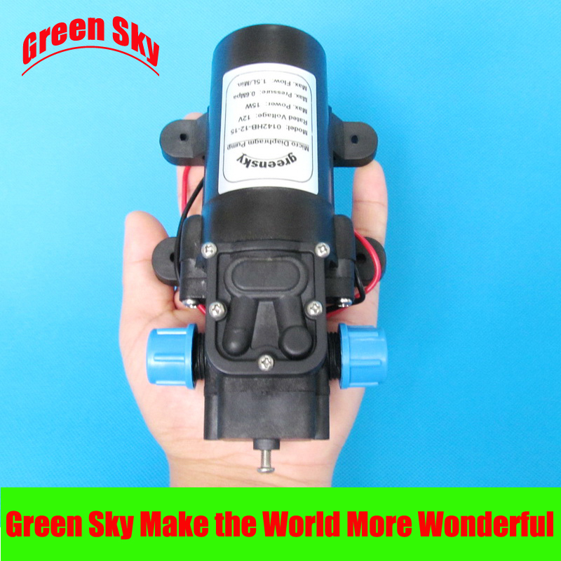 DC 12 volt 15W 1.5L/min small return valve 12 v water pumpDC 12 volt 15W 1.5L/min small return valve 12 v water pump