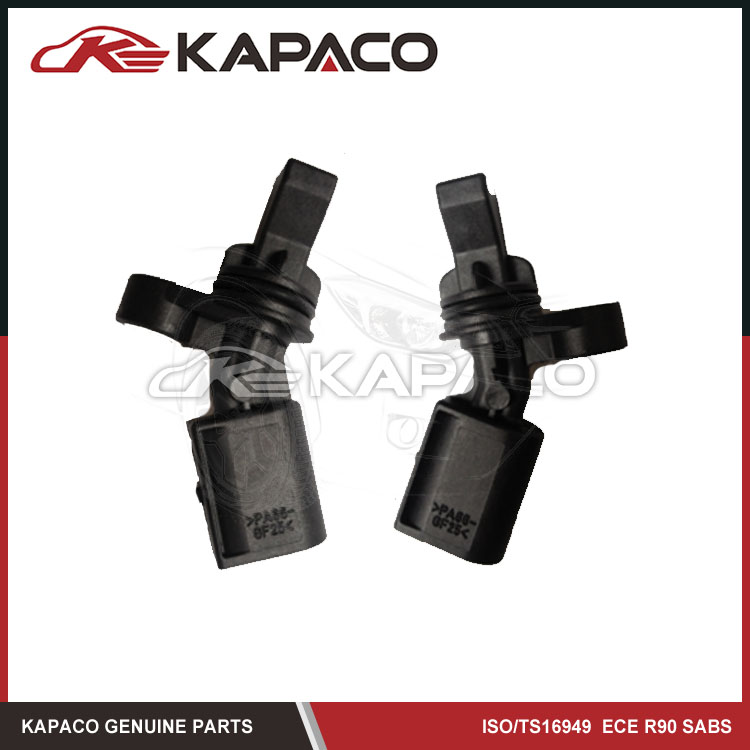 2pcs Rear Left Right 2H0927807A 2H0927808A ABS sensor Wheel for Audi Volkswagen Amarok pickup with 2 pins Free Shipping front left right rear left right abs wheel speed sensor kit for chery indis x1 s18d beat a1 kimo face arauca s12 dr1 dr2