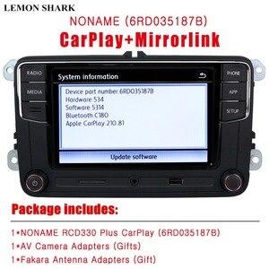 Image 2 - RCD330プラスRCD330G carplay noname 6.5 mib車ラジオrcd 330グラム6RD 035 187B RCD510 vwゴルフ5 6ジェッタccティグアンパサートポロ