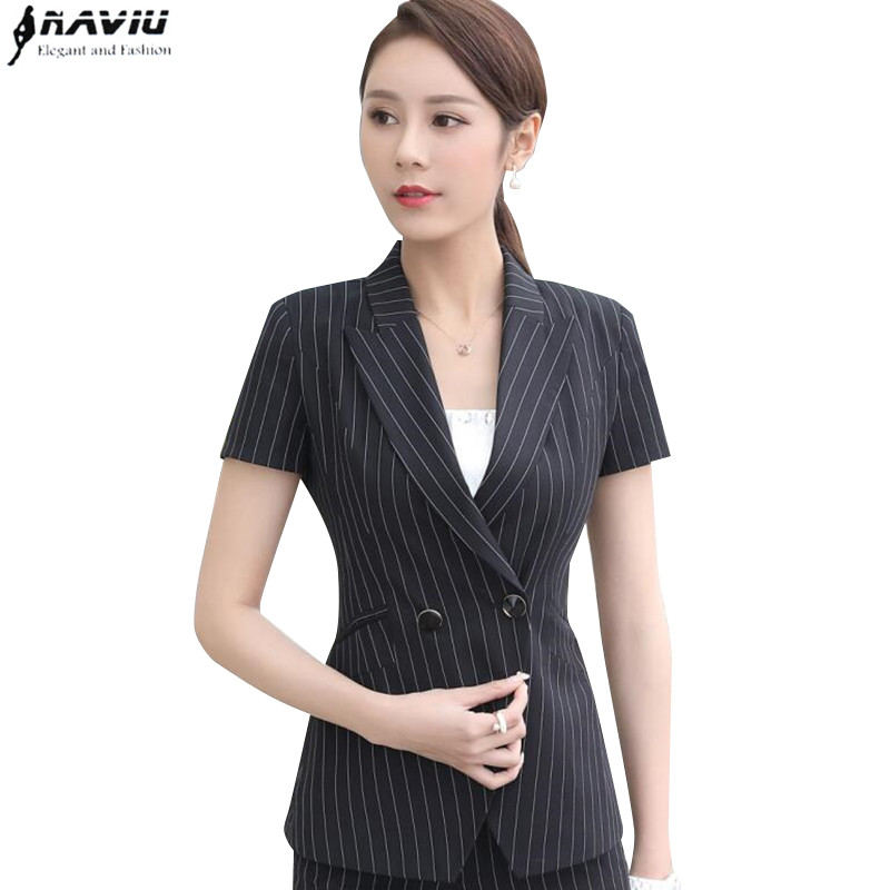 Online Get Cheap Black Short Sleeve Blazer Women -Aliexpress.com ...