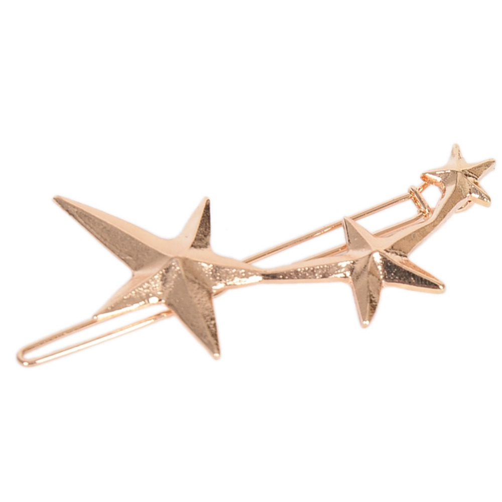 Fashion women gold silver flower crown five pointed star fashion women gold silver flower crown five pointed star geometryhairpin hair clip hair accessories 5 style in hair jewelry from jewelry accessories izmirmasajfo