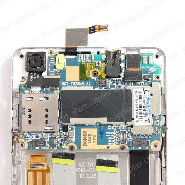 Écran LCD CUBOT X16S + numériseur d'écran tactile + cadre avec assemblage de carte mère 100% Original LCD + numériseur tactile pour CUBOT X16S - 5