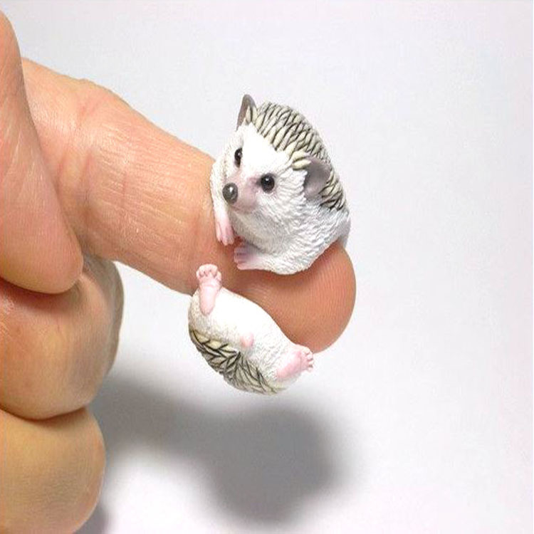 New Design For Fun Cute Samll Hedgehog Animal Ring For Women ...