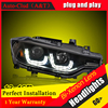 Car Styling For 3 Series F30 Led Headlights 2013 16 For F30 Head Lamp Angel Eye