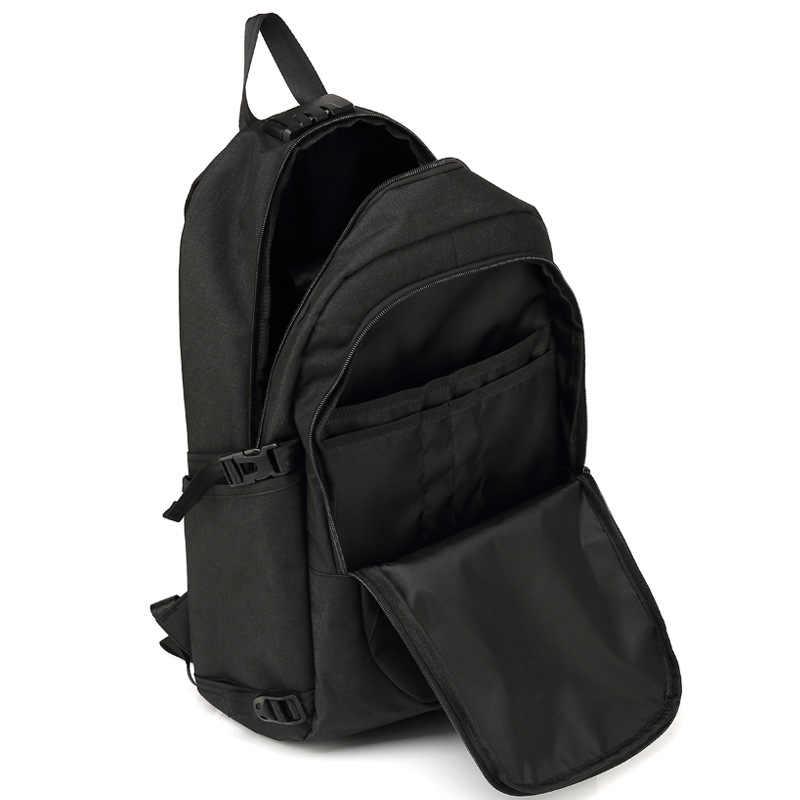 السويسري أكسفورد حقيبة الظهر رجل شحن خارجي USB 15 بوصة محمول المرأة حقيبة للسفر الحقائب المدرسية على ظهره mochila مع قفل مشفرة