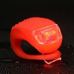 Wodoodporne światło rowerowe LED rowerowe tylne koło stroboskopowe lampka na szprychy latarka rowerowa akcesoria rowerowe przednia kierownica światło w Oświetlenie rowerowe od Sport i rozrywka na