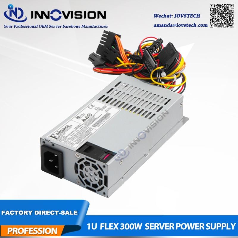 High efficiency 1U flex psu Rated 300Watts industrial Power Supply PSU ENP7030B 80Plus